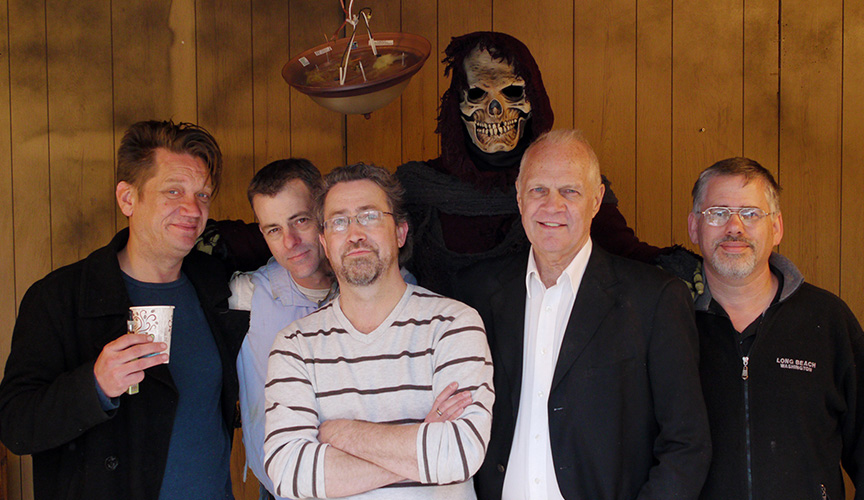 Kiliam Lord, Bill Read Jr. Joseph Kephart, Paris Dolph, Doug Johnston and Chris Burrows